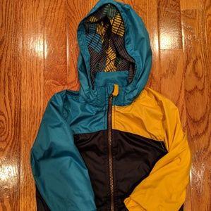 Toddler windbreaker jacket